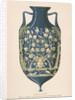 Glass vase from Pompeii by J R Robbins