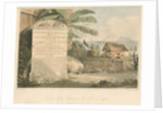 'Tomb of Colonel Cathcart in the Fort of Anjerie' by Thomas Medland
