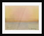 Krakatoa sunset by Karl Johann Kiessling