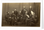 Group portrait of Andersonian Professors by Cramb Brothers
