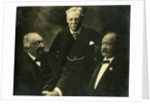 Group portrait of three chemists by Elliott & Fry