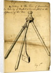Ballistic pendulum by Benjamin Robins