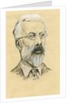 Portrait of Ronald Aylmer Fisher by Maurice Stevenson Bartlett