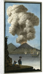 Eruption of Mount Vesuvius by Pietro Fabris