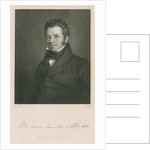 Portrait of Marshall Hall (1790-1857) by J Holl