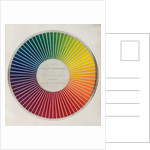 Colour circle by Michel Eugene Chevreul