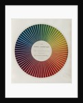 Colour circle by Michel Eugene Chevreul