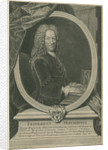 Portrait of Friedrich Hoffmann (1660-1742) by Gilles Edme Petit