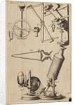 Robert Hooke's microscope by Robert Hooke