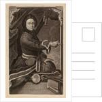 Portrait of Pierre Louis de Maupertuis by Johann Jacob Haid