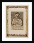 Portrait of Petrus Apianus by Philip Galle