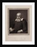 Portrait of Galileo Galilei by Pietro Antonio Leone Bettelini