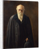 Portrait of Charles Darwin (1809-1882) by Mabel Messer
