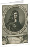 Portrait of John Kersey the elder (1616-1677) by William Faithorne the Elder