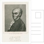 Portrait of Joseph Jerome Lefrancois de Lalande (1732-1807) by Auguste Adrien Jouanin