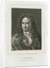 Portrait of Gottfried Wilhelm Leibniz (1646-1716) by Philibert Boutrois Adam