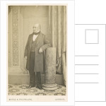 Portrait of James Scott Bowerbank (1797-1877) by Maull & Polyblank