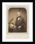 Portrait of James Scott Bowerbank (1797-1877) by Maull & Polyblank