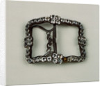 Shoe buckle by Anonymous