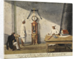 Madras Observatory interior by Anonymous