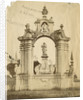 St Bernard's monument, Certosa [earthquake damage] by Alphonse Bernoud Grellier