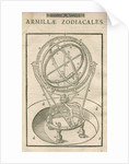 Tycho Brahe's zodiacal armillary sphere by Anonymous
