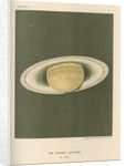 'The planet Saturn (in 1872)' by Cassell & Co