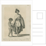 A Woman & a Boy, Natives of Otaheite, in the Dress of that Country by Thomas Chambers