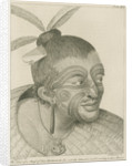 'The Head of a Chief of New Zealand...' by Thomas Chambers