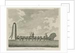 'A War Canoe, of New Zealand' by Richard Bernard Godfrey