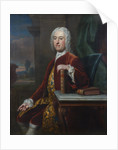 Portrait of James Burrow (1701-1782) by Jean-Baptiste van Loo