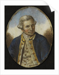 Miniature of James Cook (1728-1779) by unknown