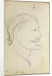 Caricature of Cecil Clifford Dobell (1886-1949) by H G Newth