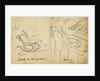 Caricature of Silvanus Phillips Thompson (1851-1916) and Frederick Guthrie (1833-1886) by Silvanus Phillips Thompson