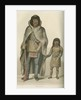 'Portrait of Akaitcho, and his son' by Edward Francis Finden