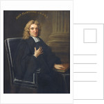 Portrait of John Flamsteed (1646-1719) by Thomas Gibson