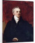 Portrait of Thomas Young (1773-1829) by Henry Perronet Briggs