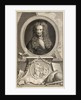 Portrait of Isaac Newton (1642-1727) by Jacobus Houbraken