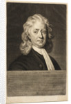 Portrait of Isaac Newton (1642-1727) by James McArdell