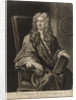 Portrait of Isaac Newton (1642-1727) by John Faber the Younger