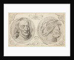 Portraits of Sir Isaac Newton (1642-1727) and Sir Hans Sloane (1660-1753) by Jacob Smith