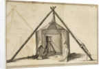 Shelton regulator in canvas observatory by James Basire the elder