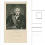 Portrait of Joseph Banks (1743-1820) by Charles Edward Wagstaff