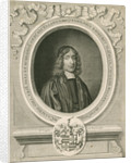 Portrait of Ralph Bathurst (1620-1704) by David Loggan