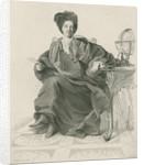 Portrait of Bernard le Bovier de Fontenelle (1657-1757) by Leonie Lacoste Chollet