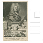 Portrait of Ambrose Godfrey (1680-1756) by George Vertue