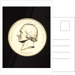 Obverse of the Rumford Medal by Anonymous