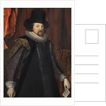 Portrait of Francis Bacon (1561-1626) by Studio of Paulus van Somer I