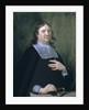 Portrait of Henry Oldenburg (1612-1677) by Jan van Cleve