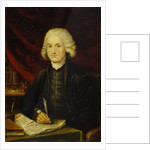 Portrait of Joseph Priestley (1733-1804) by unknown